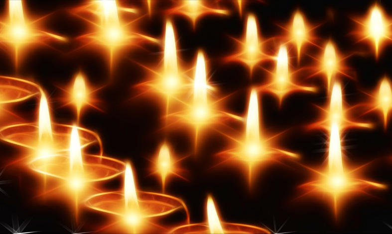 many candle lghts