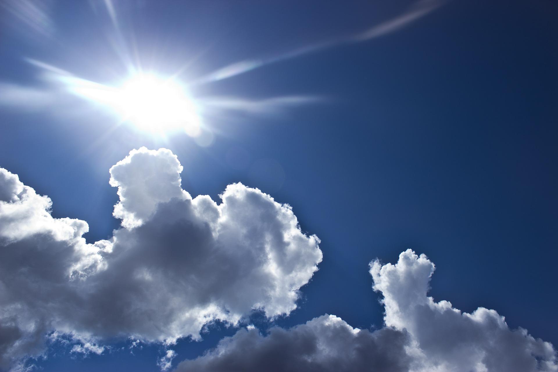 cloud sun sky heaven