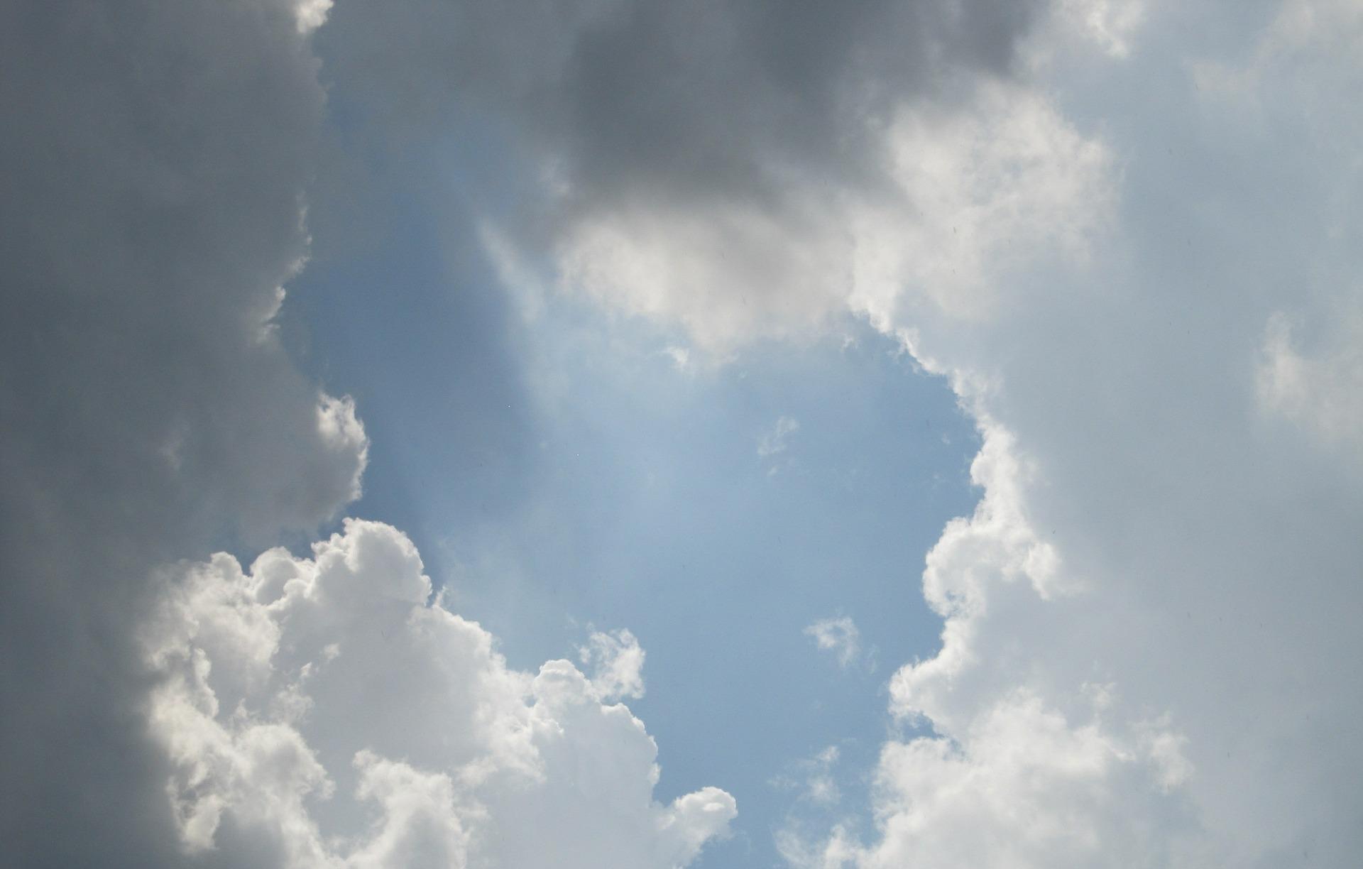 sky clouds heaven