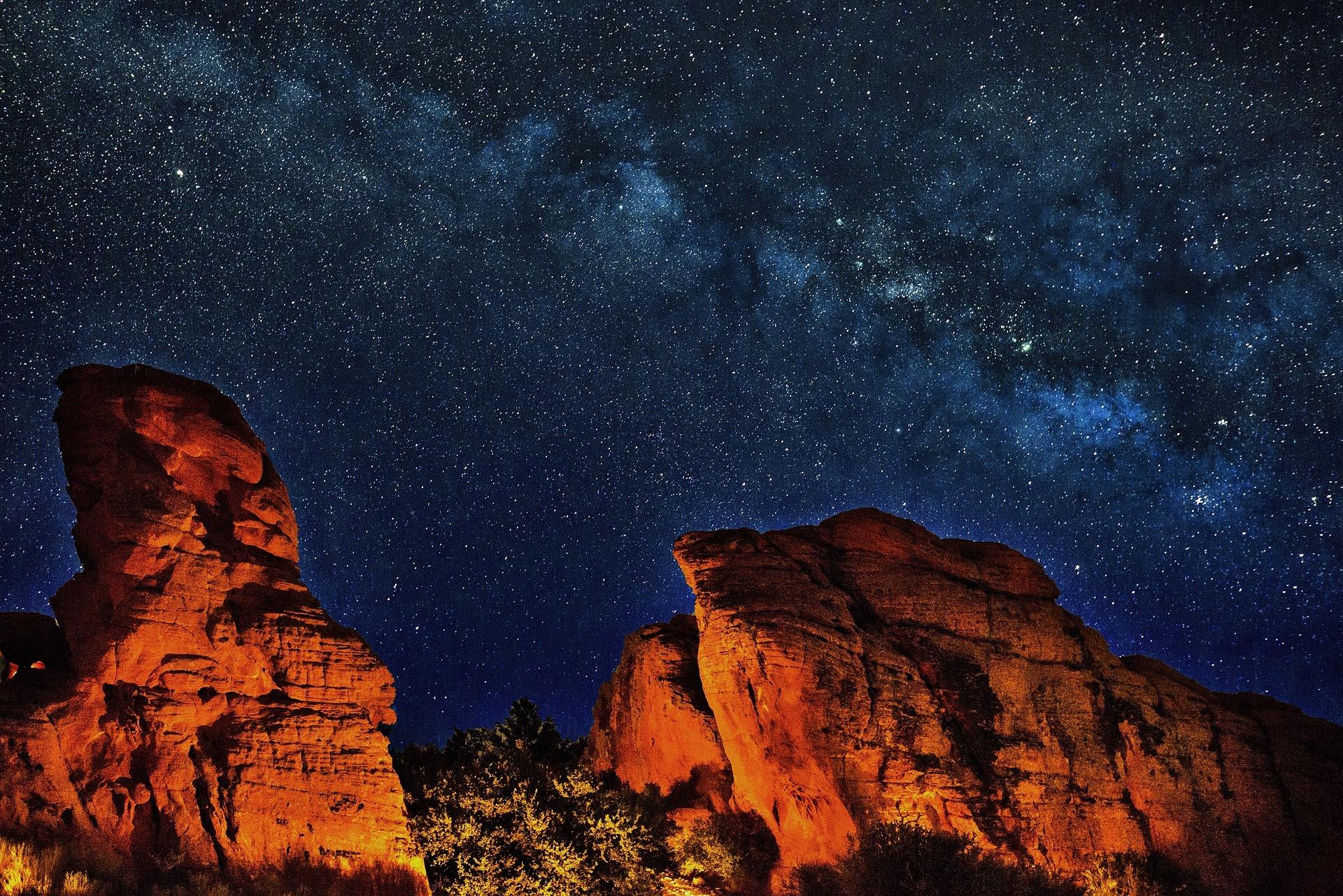 stars rocks