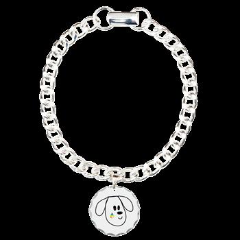 buddy the dog charm bracelet