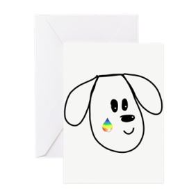 buddy the dog condolence card