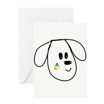 buddy the dog condolence card