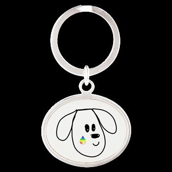 buddy the dog key chain