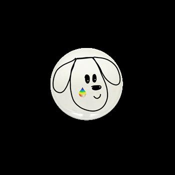 buddy the dog pet loss memorial pin