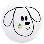 buddy dog pet memorial pin
